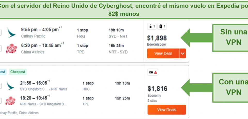 ¿Cómo conseguir vuelos baratos con VPN?