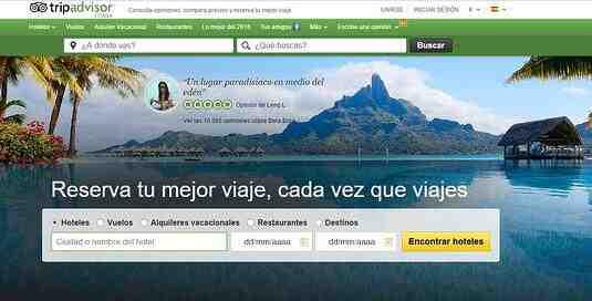 ¿Cuál es la mejor web de viajes?