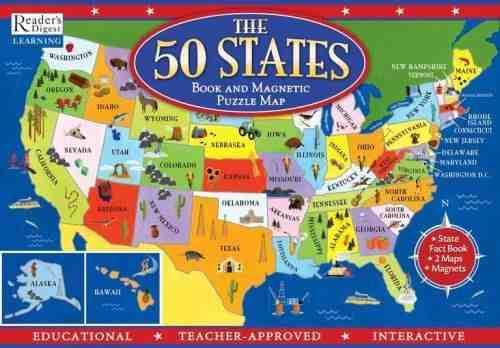 Quels sont les 52 états des USA ?